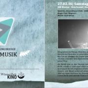 Programmflyer Film&Musik